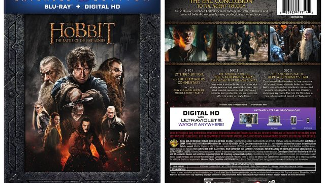 The Hobbit: The Battle of the Five Armies Extended Edition – HD Report