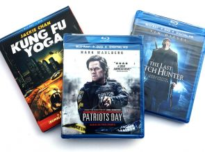 Blu-ray Giveaway: 3-Movie Action Pack w/Patriots Day