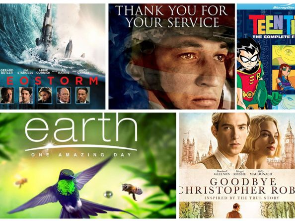 New on Blu-ray: Geostorm, Jigsaw, Earth: One Amazing Day & more