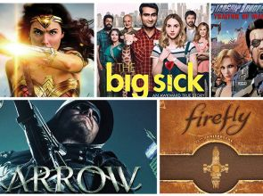 New on Blu-ray: Wonder Woman, The Big Sick, Arrow S5 & more